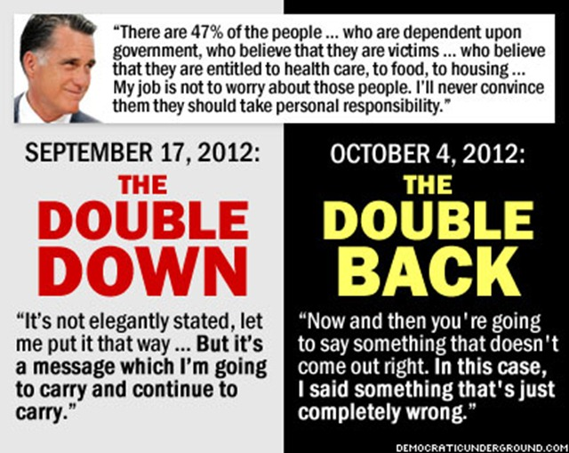 double-down-double-back from democratic underground