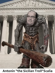 scalia the troll by hip is everything