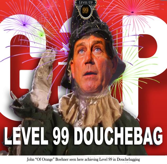 boehner lvl 99 douchebag by hip is everyrhhing