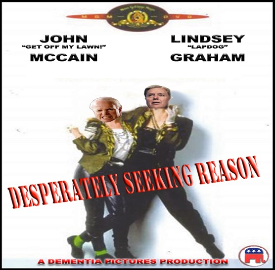 john mccain desperately seeking reason by hip is everything