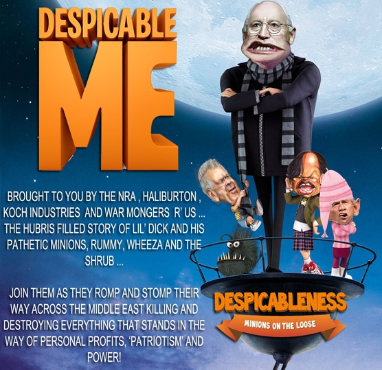 lil dick cheney despicable me