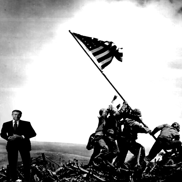 brian williams at iwo jima by hip is everything