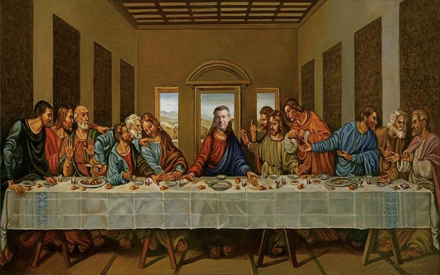 brian williams last supper by hip is everything