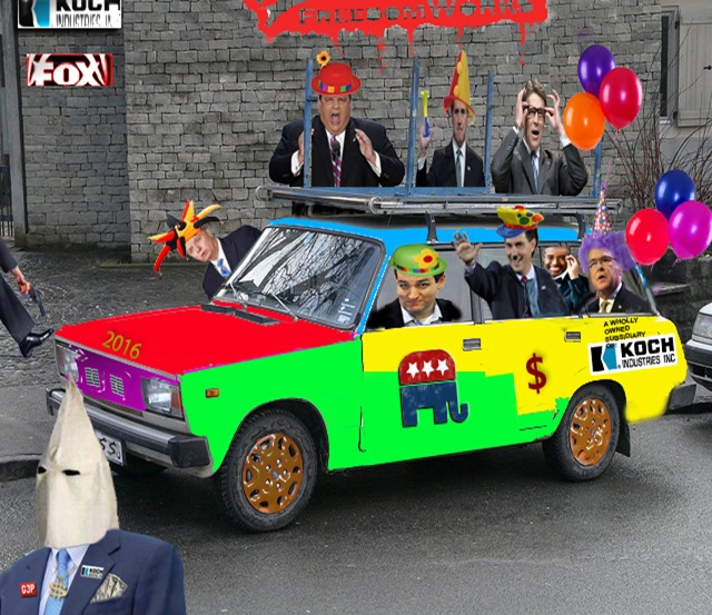 GOP clown car 2016 by hip is everything