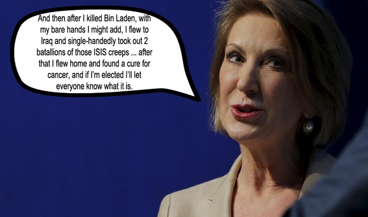 carly fiorina by hip is everything