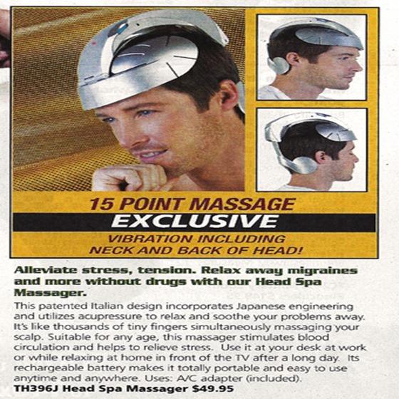 headmassager