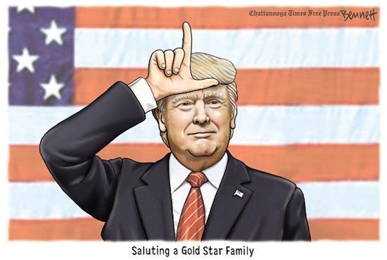 gold star salute