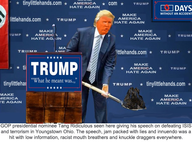 trump shovels by hip is everything