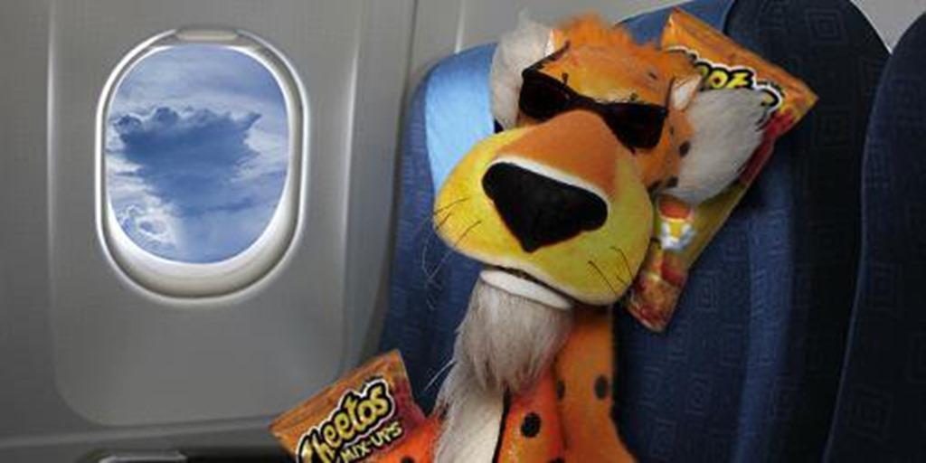 aboard trump plane