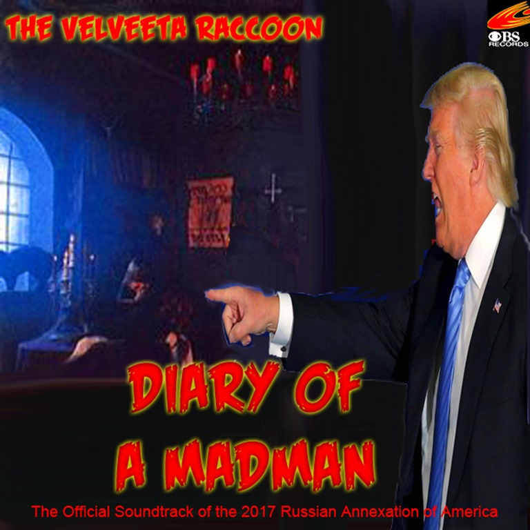 donald trump diary of a madman by hip is everything