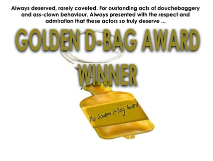 golden dbag award winner by hip is everything