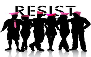 RESIST. NEVER STOP. PERIOD.
