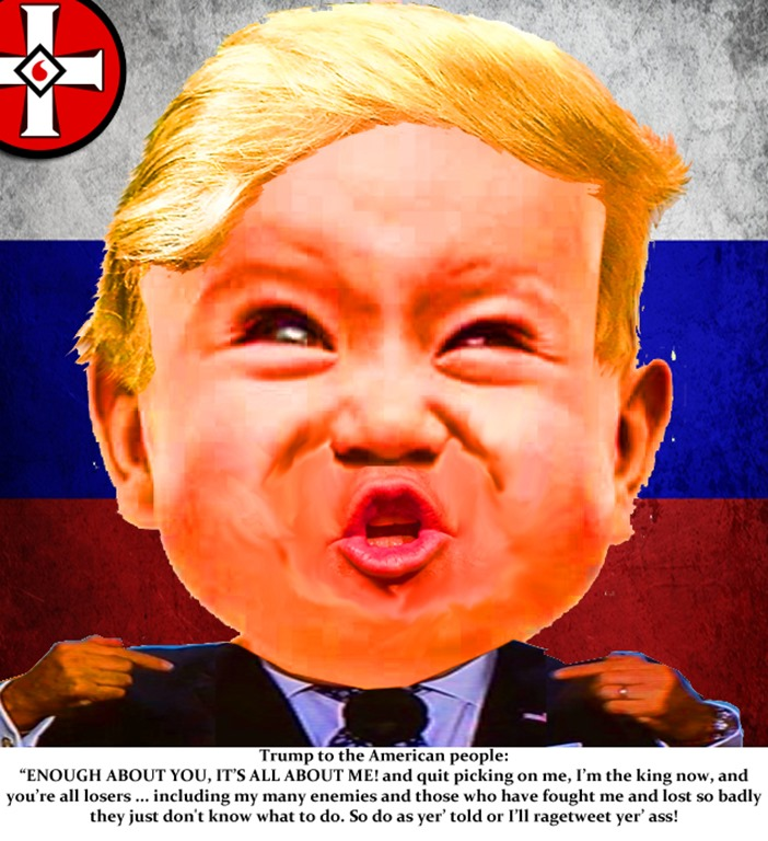 Trump baby by hip is everything