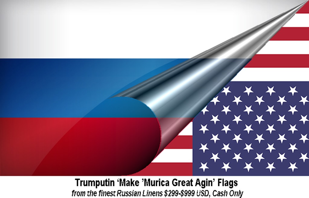 Trumputin MAGA Flags by hip is everything