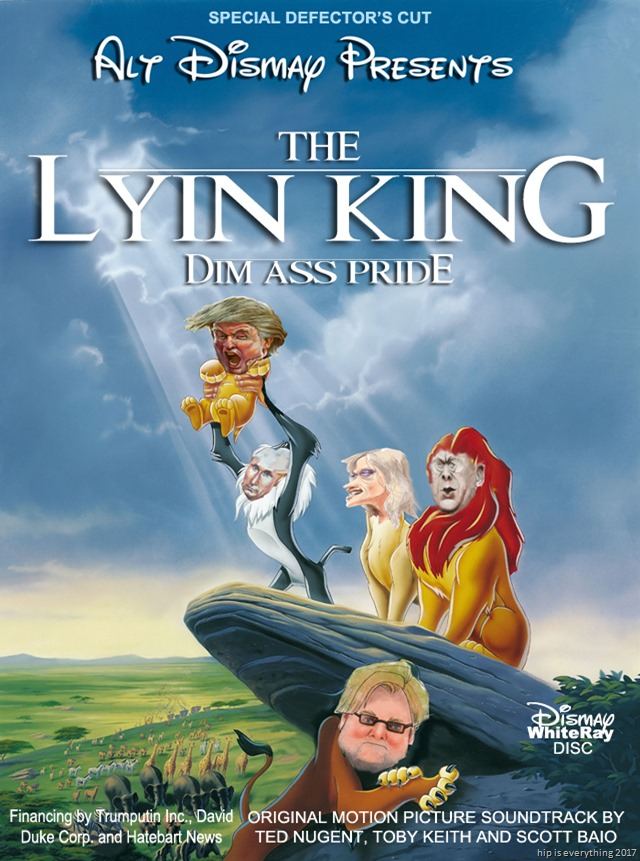 TRUMP the lyin king by hip is everything