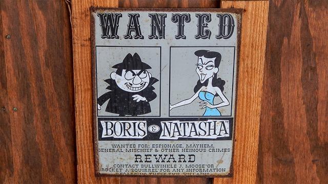 East-Bay-Raceway-Park-sign-Boris-and-Natasha-from-Bullwinkle-cartoon-Tampa-FL