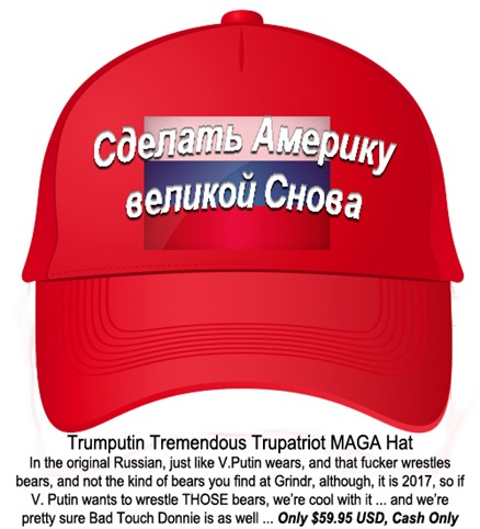 TRUMPUTIN MAGA Hat (Russian) by hip is everything