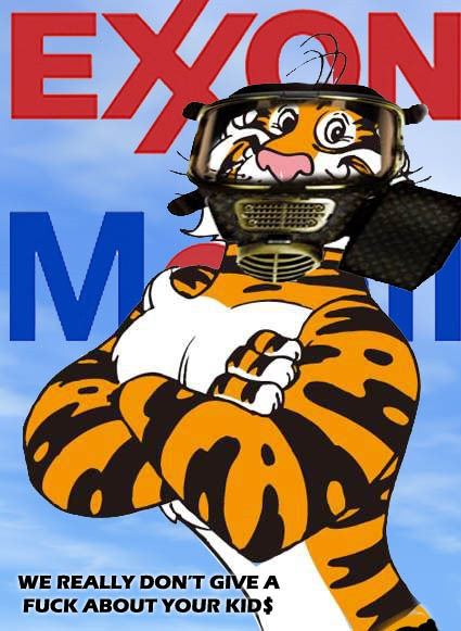 exxon tiger by hip is everything