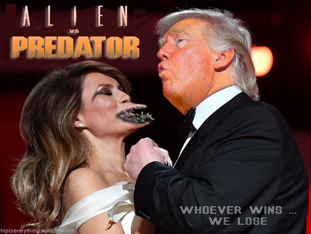 alien vs predator trumps by hip is everything