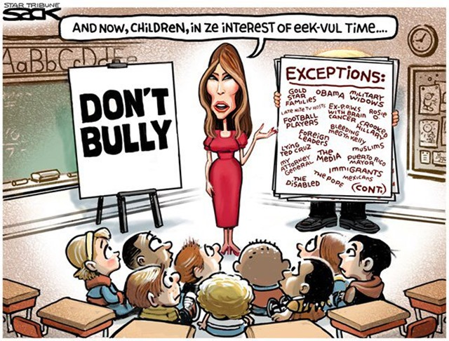 melania bully talk