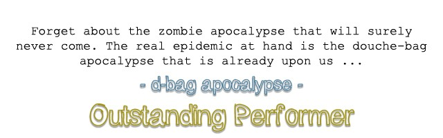 dbag apocalypse outstanding performer award by hip is everything