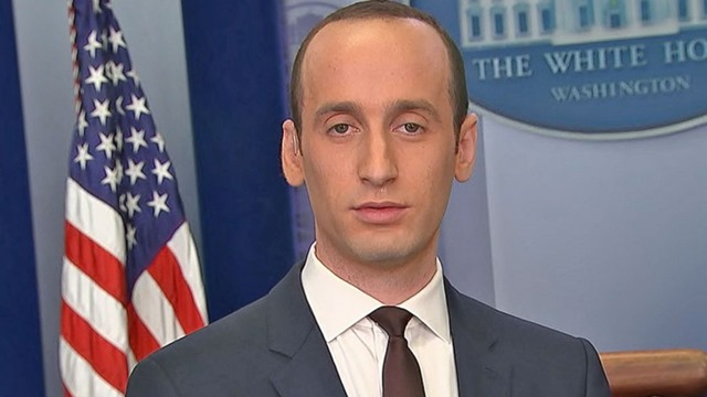 stephen miller easily one of the most punchable faces in the history of punchable faces