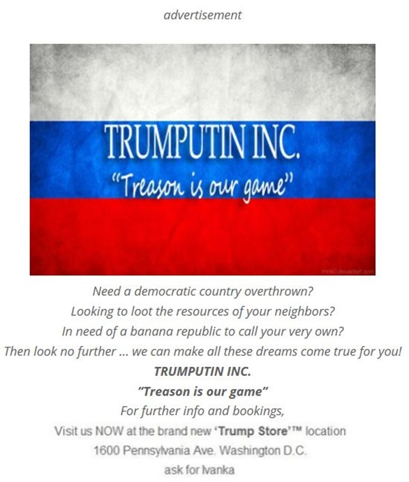 trump treason by hip is everything