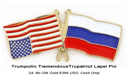 trumputin lapel pin by hipiseverything