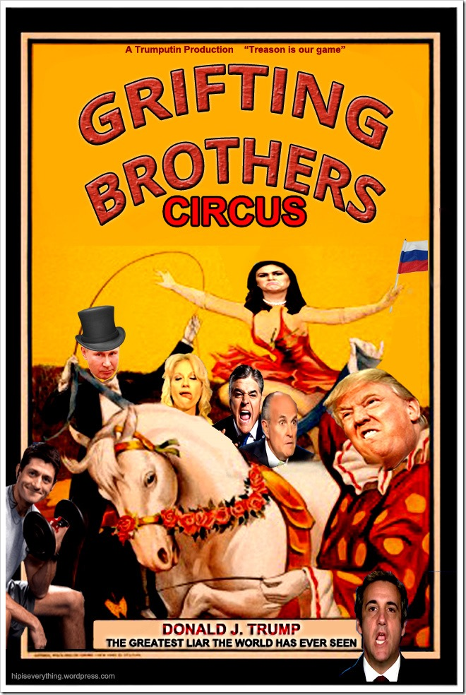 GRIFTER BROTHERS CIRCUS by hip is everything 2018