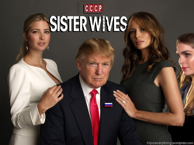 Trump Sister Wives by hip is everything