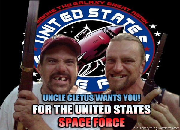 SPACE FORCE WANTS YOU