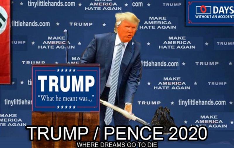 2020 TRUMP PENCE WHERE DREAMS GO TO DIE