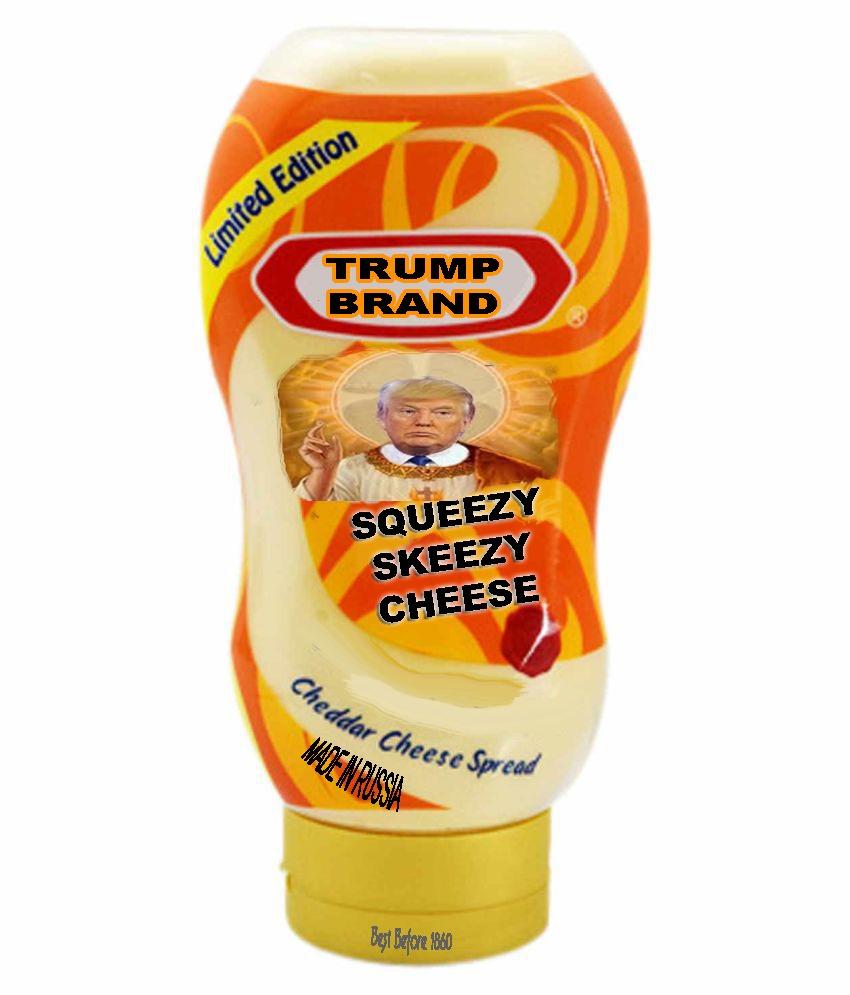 Trump Brand Squeezy Skeezy Cheese