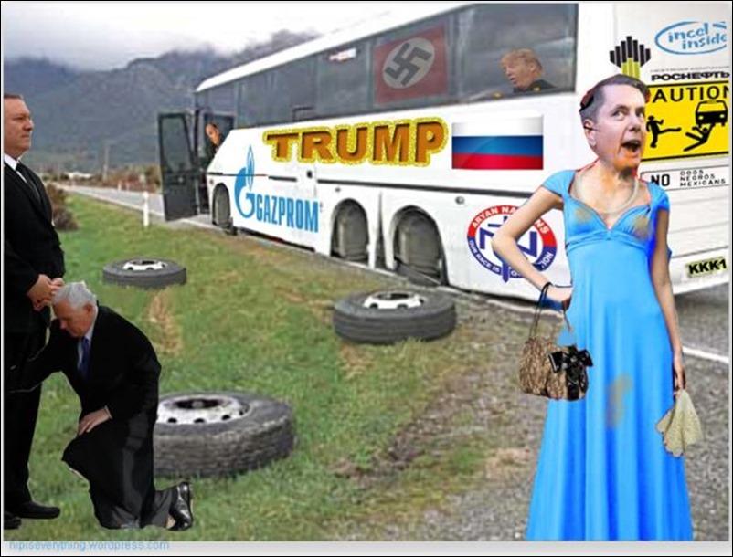 wheels on the bus avec Pompous