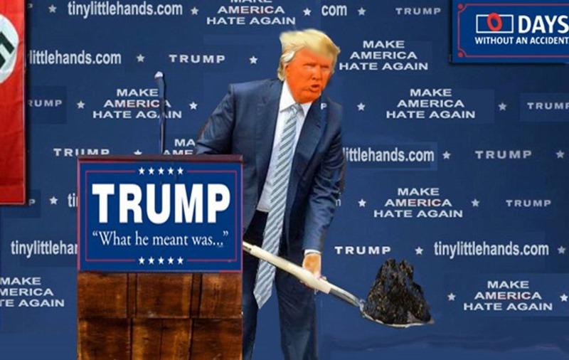 trump shovels