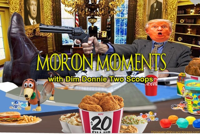moron moments with dim donnie
